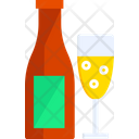 Champagne Drink Glass Icon