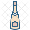 Champagne Party Drink Icon