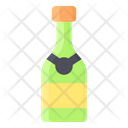 Bottle Champagne Drink Icon