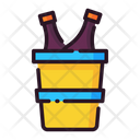Champagne Bucket Icon