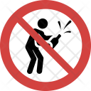 Champagne not allowed Icon