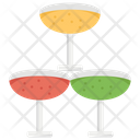 Champagne Stack Icon