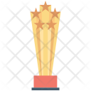 Champion Trophy Medal Icon