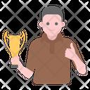 Winner Victor Champion Icon