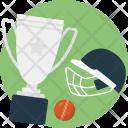 Cricket Tournament Championship Icon