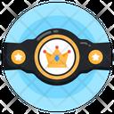 Winning Belt Championship Belt Tournament Belt Icon