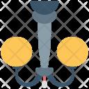 Chandelier Light Decoration Icon
