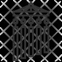 Chandelier Decoration Design Icon