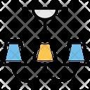 Bulb Chandelier Lamp Icon