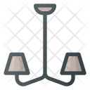 Chandelier Decorations Home Icon