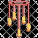 Chandelier Modern Chandelier Lamp Icon