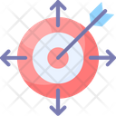Change In Focus Change Thoughts Dart Icon