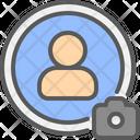 Profile Change Picture Icon