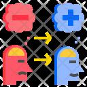 Change Negative Positive Icon