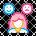 Changeable Mood Symptomp Icon