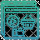 Channels Marketing Social Marketing Icon