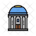 Chapel Building Color Icon