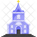Church Chapel Religious Place Icon