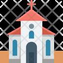 Chapel Christian Building Icon