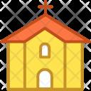 Chapel Christianity Church Icon