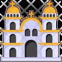 Church Chapel Architecture Christian Building Icon