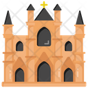Church Chapel Building Religious Place Icon