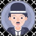 Actor Chaplin Comedy Icon