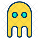 Spooky Ghost Video Game Icon