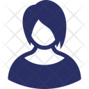 Character Female Figure Icon