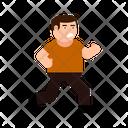 Run Escape Stand Icon