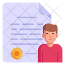 Character Certificate Icon