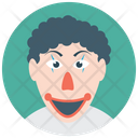 Character Clown Icon