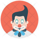 Character Clown Joker Circus Joker Clown Costume Icon