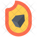 Charcoal Coal Fire Icon