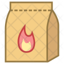 Charcoal Package Icon