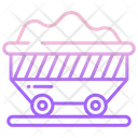 Charcoal Cart Cart Coal Icon