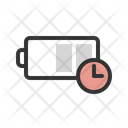 Charge Battery Time Icon
