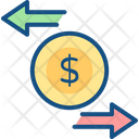 Charge Back Finance Money Icon
