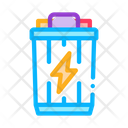Battery Charge Lightning Icon