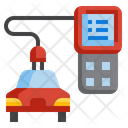 Charge Car Battery Icon