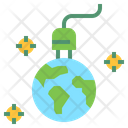 Charge Earth Icon