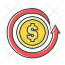 Chargeback Card Refund Repayment Icon