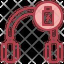 Charged Headphone Icon