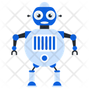 Charged Humanoid Bionic Man Humanoid Icon