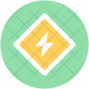 Charging Bolt Battery Icon