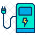 Charging Station Charging Pump Power Station Icon