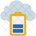 Cloud Computing Charging Icon