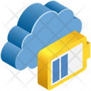Cloud Computing Charging Icon