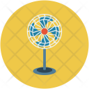 Charging Fan Electric Icon