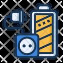 Charging Battery Socket Icon